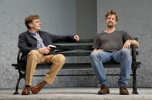 Robert Sean Leonard and Paul Sparks.