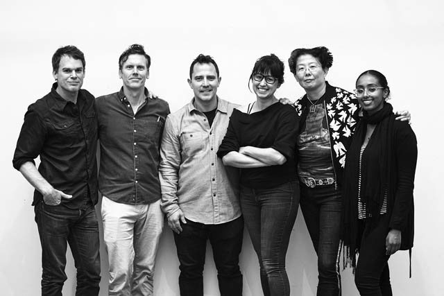 Michael C. Hall, Will Eno, Oliver Butler, Jen Schriever, Anita Yavich, and Banna Desta.
