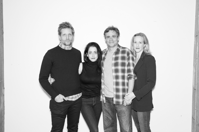 Paul Sparks, Director Lila Neugebauer, Robert Sean Leonard, and Katie Finneran.
