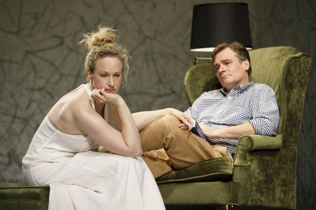 Katie Finneran and Robert Sean Leonard.