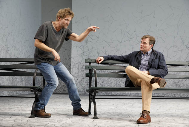 Paul Sparks and Robert Sean Leonard.