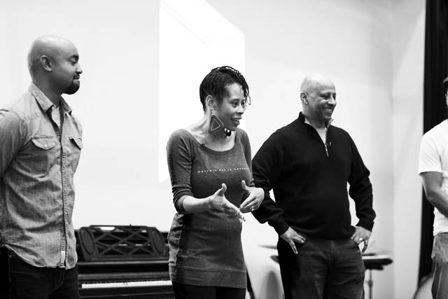 Playwright Dominique Morisseau and director Ruben Santiago-Hudson.