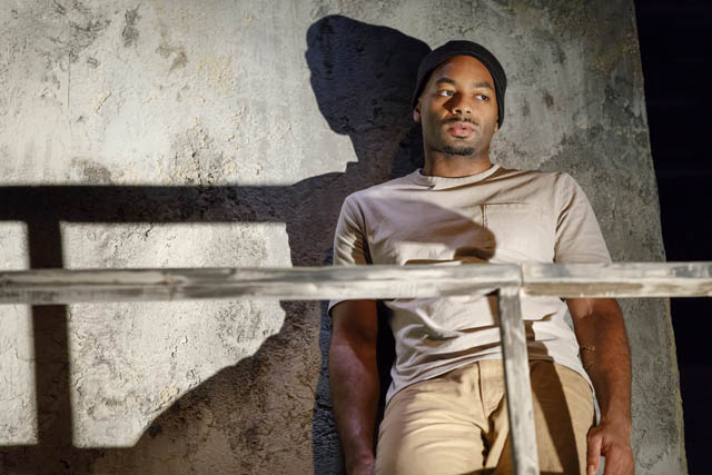 Brandon Victor Dixon. Photo by Joan Marcus.