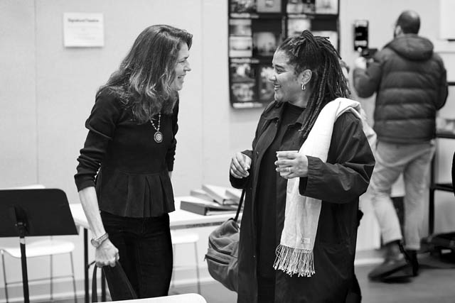 Paige Evans and Lynn Nottage.