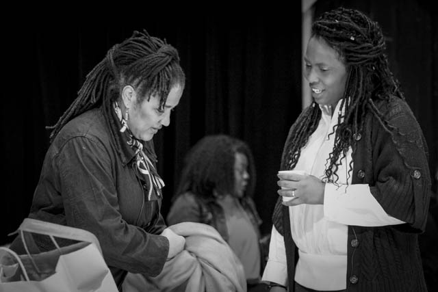 Lynn Nottage and Kamilah Forbes.