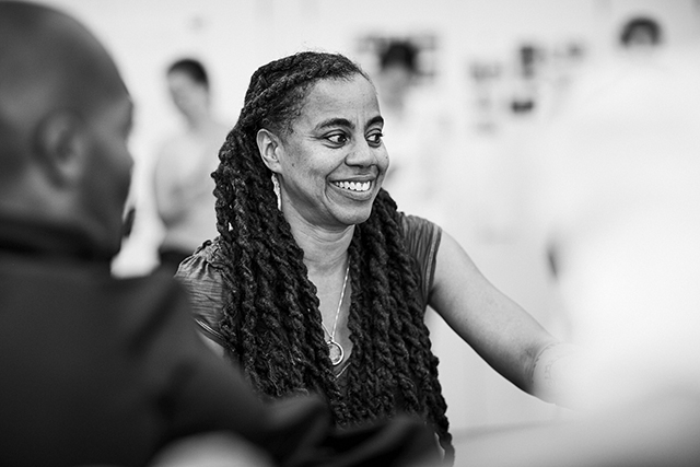 Playwright Suzan-Lori Parks.