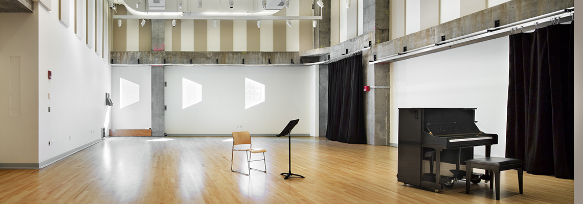 Pershing Square Signature Center's Rehearsal Studio